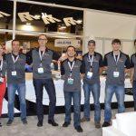 El equipo de ventas de la firma The Morgan Tecnica America.