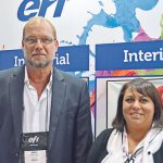 Michael Plier (izq.) y Marie Landof, Electronics For Imaging (EFI).