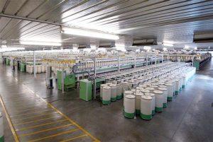 Marzoli diseña líneas de hilatura completas para los más altos estándares de fabricación y flexibilidad.