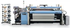 El A9500, de Itema, está diseñado para tejer estilos de sábanas con