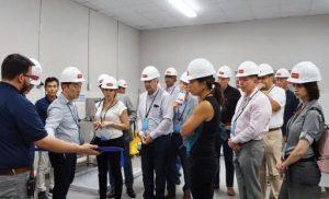 Los asistentes de la Cumbre de Prendas de Vestir 2018 tuvieron la oportunidad de recorrer las nuevas instalaciones de UXTEXA y conocer las capacidades de la planta.
