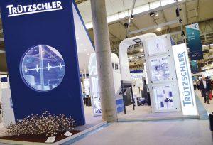 Trützschler mostró sus innovaciones en hilanderías y no tejidos.
